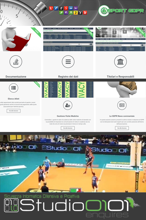 Il progetto Sport-Gdpr